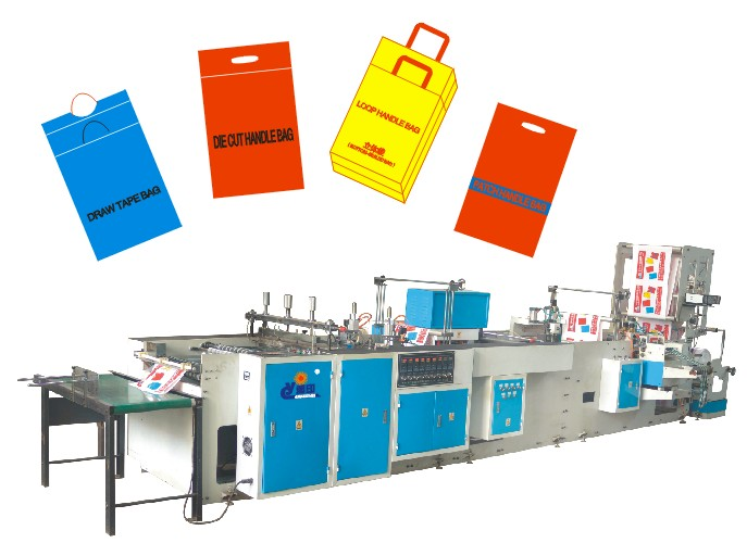 Multi-functional Handle Bag Making Machine