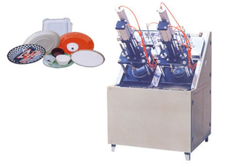 Paper Dish Forming Machine
