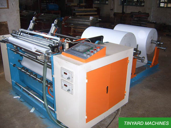 Till Paper Roll Slitting Machine