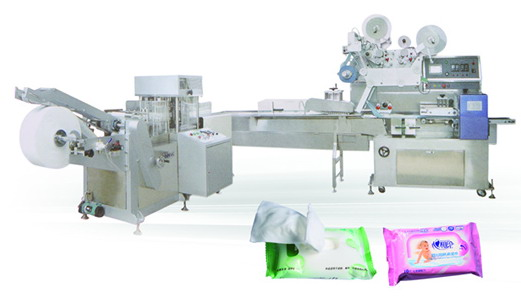 30pcs Wet Tissue Packing Machine