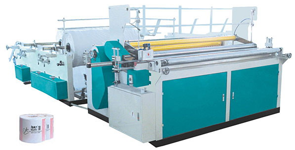 Toilet Tissue Roll Making Machines