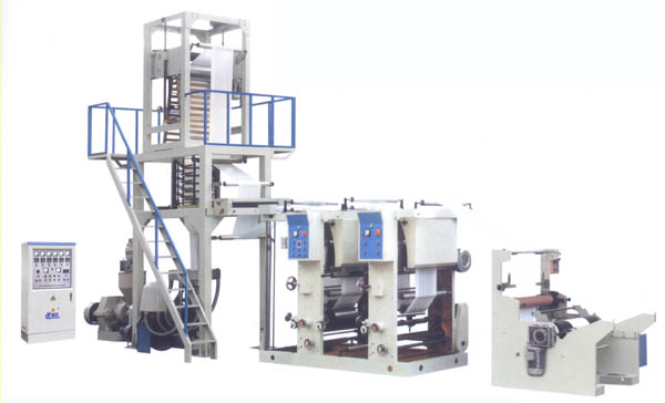Film Blowing Interlink Printing Machine