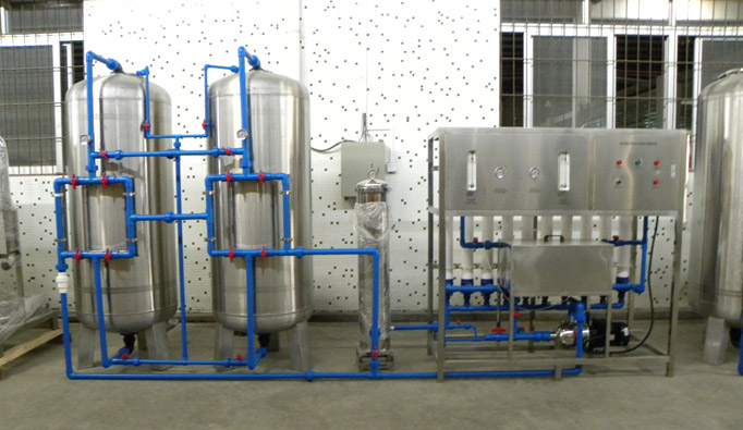 5000 Litres Mineral Water Treatment System