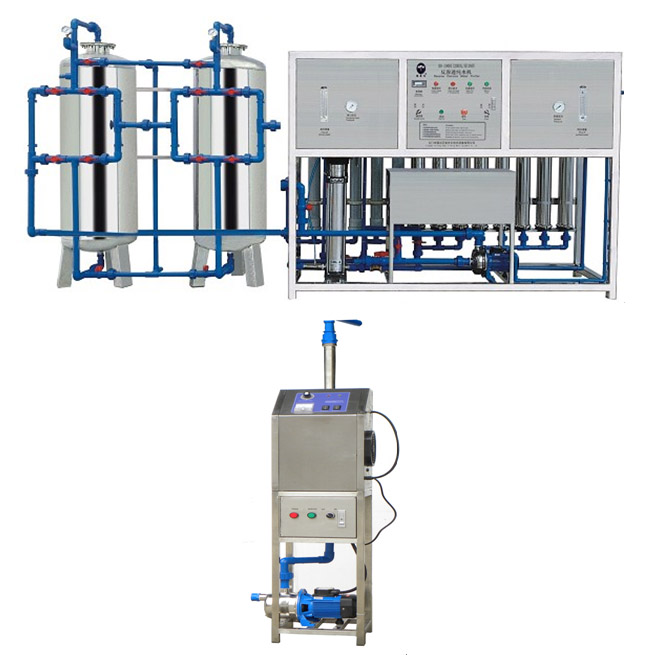 2000 Litres Ultra Pure Water Treatment System