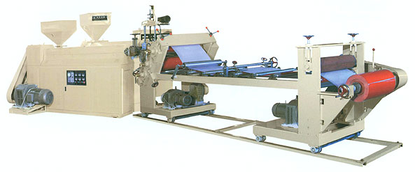 Multi-layer Plastic Sheet Extruder